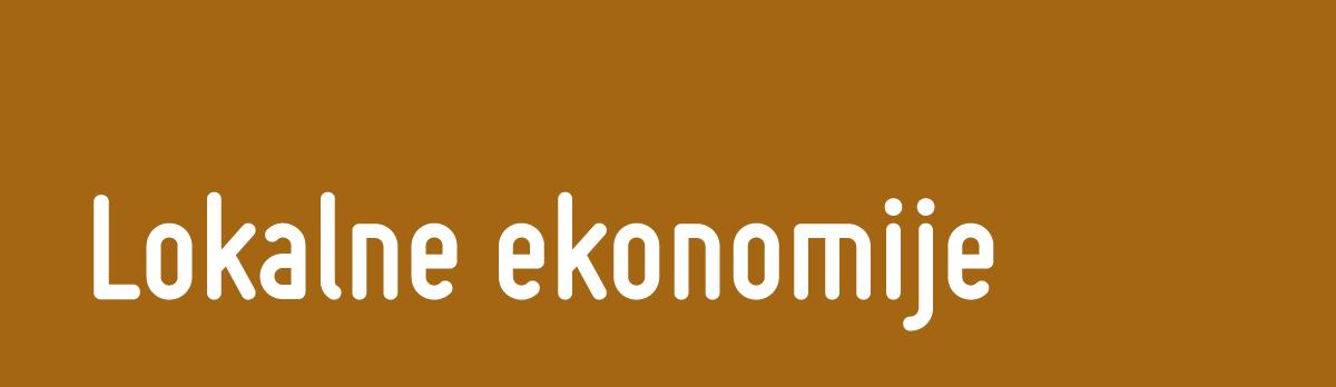 Lokalne ekonomije